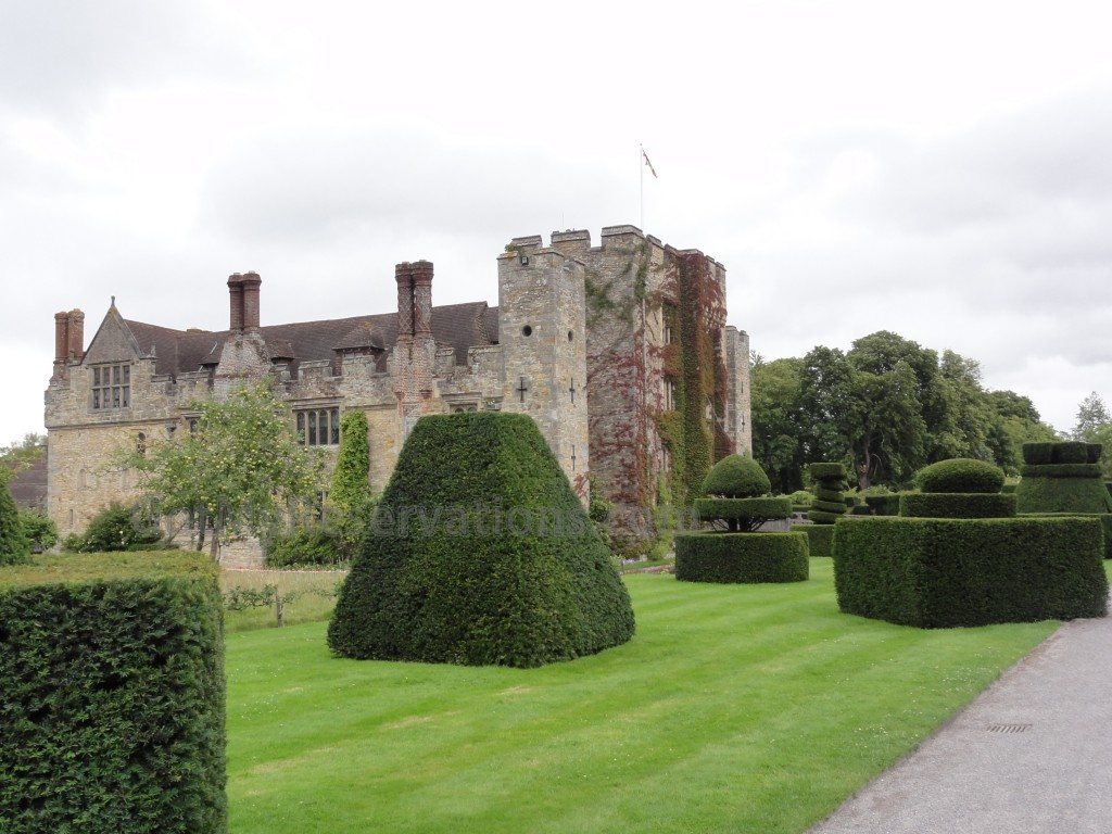Got My Reservations - Hever Castle Topiary
