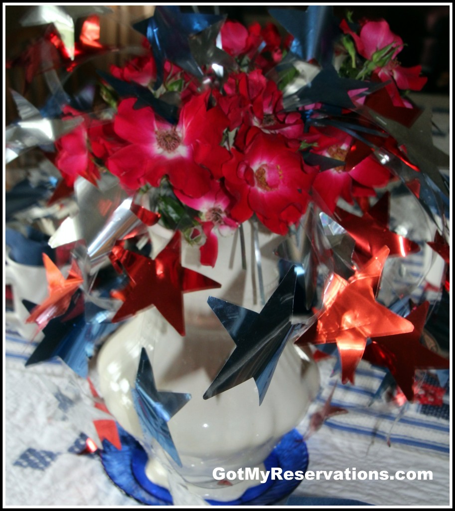 GotMyReservations - 4th of July Centerpiece