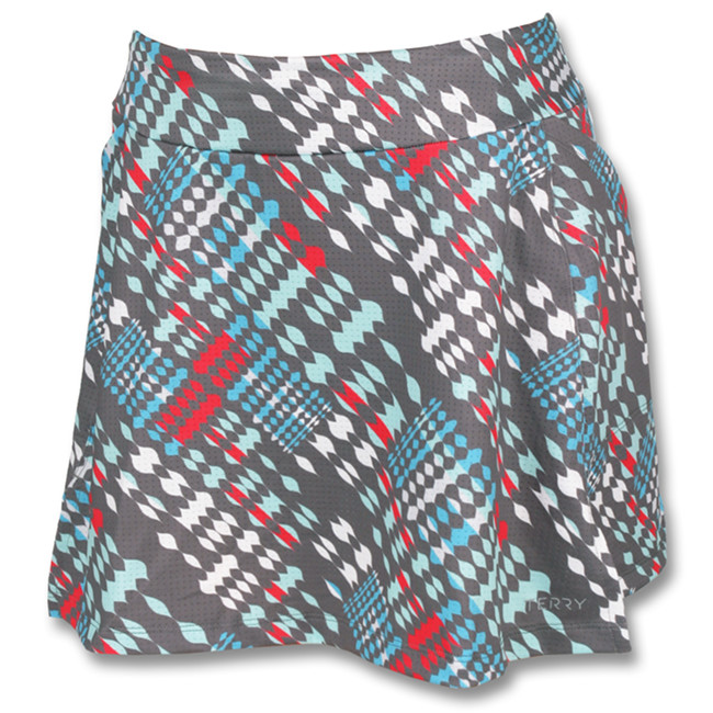 Terry's Flare Skort is the perfect solution to bicycling in cities.