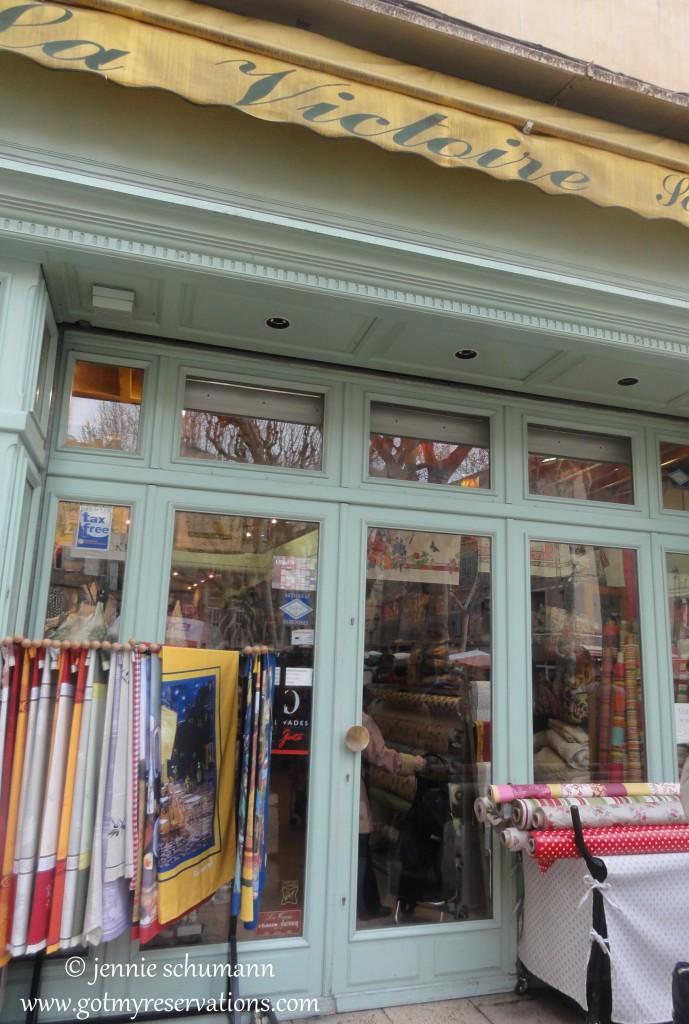 GotMyReservations -- La Victoire in Aix-en-Provence Front Door