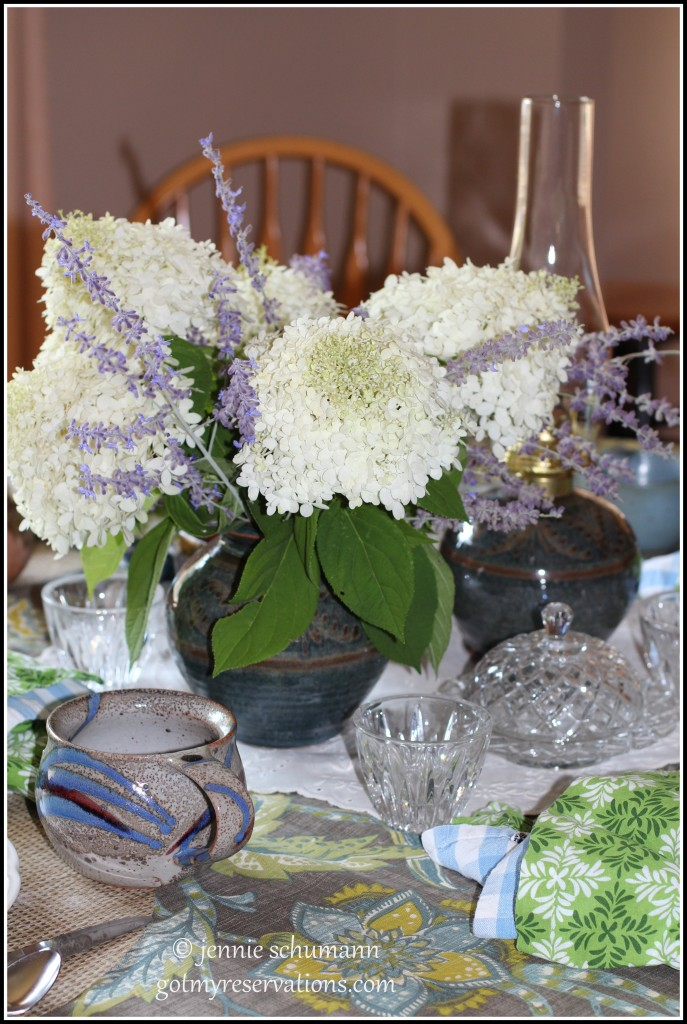 GotMyReservations -- Outside Inside Tablescape Centerpiece
