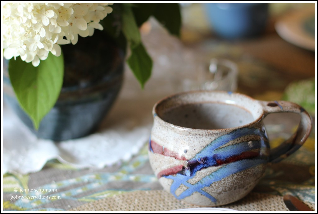 GotMyReservations -- Outside Inside Tablescape Mug