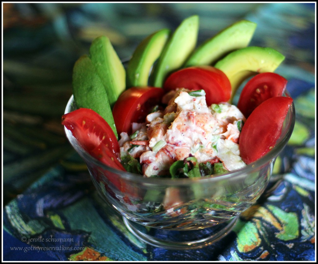 GotMyReservations--Seafood Cobb Salad Remixed Food Styling