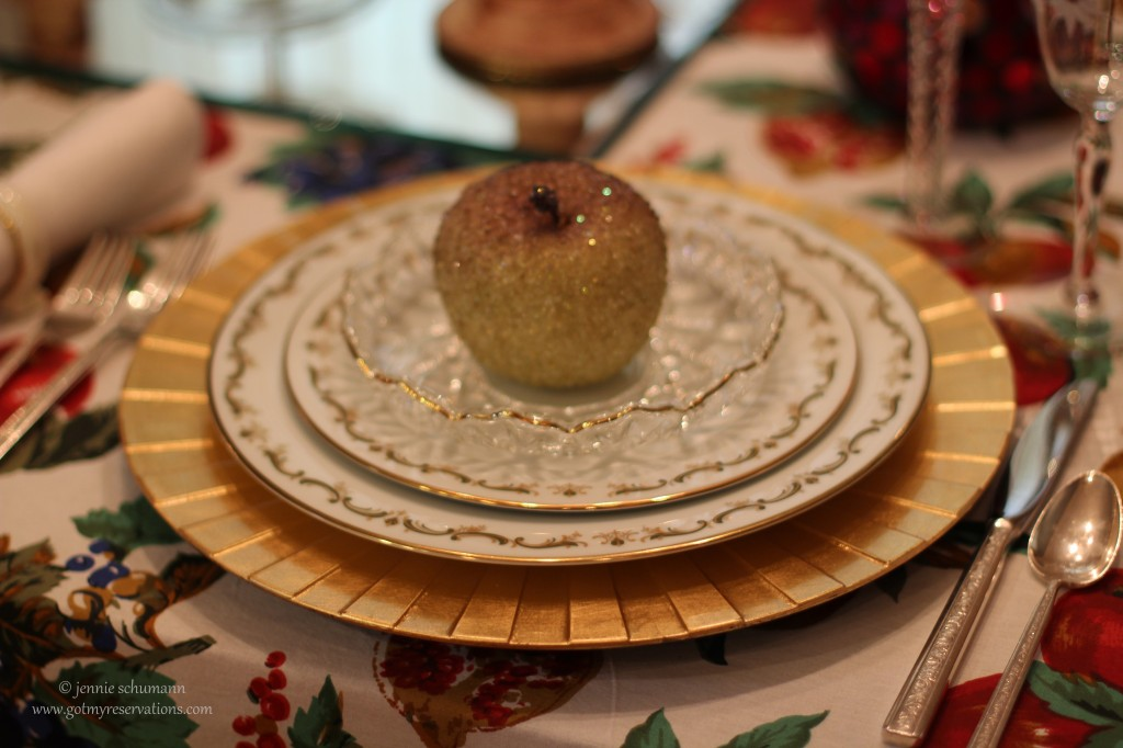 GotMyReservations -- Apple Fantasy Place Setting 1
