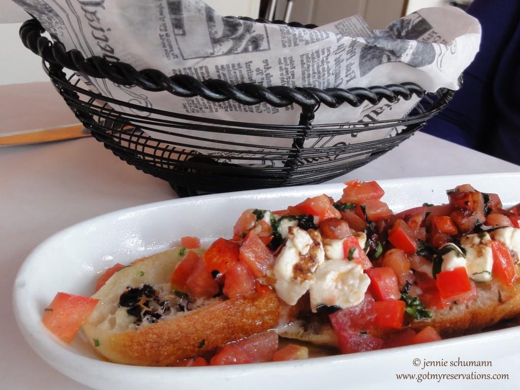 GotMyReservations - Convito Cafe Bruschetta