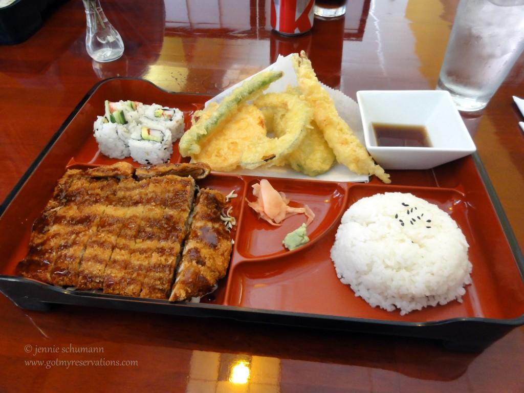 GotMyReservations - Dotombori Bento Box Pork Tonkatsu