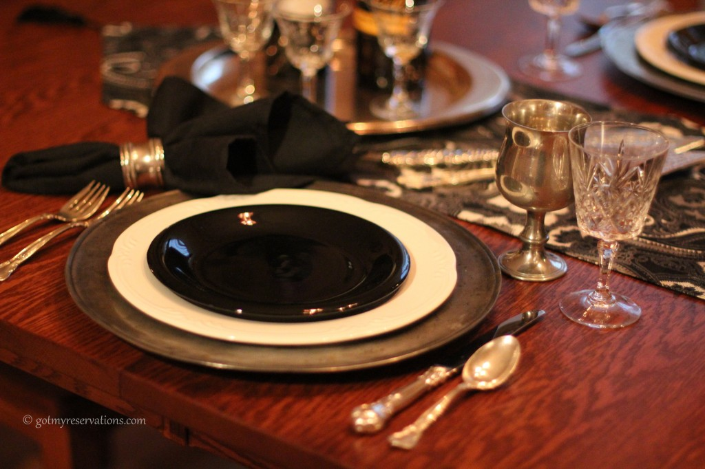 GotMyReservations - Quoth the Raven Place Setting. 2jpg