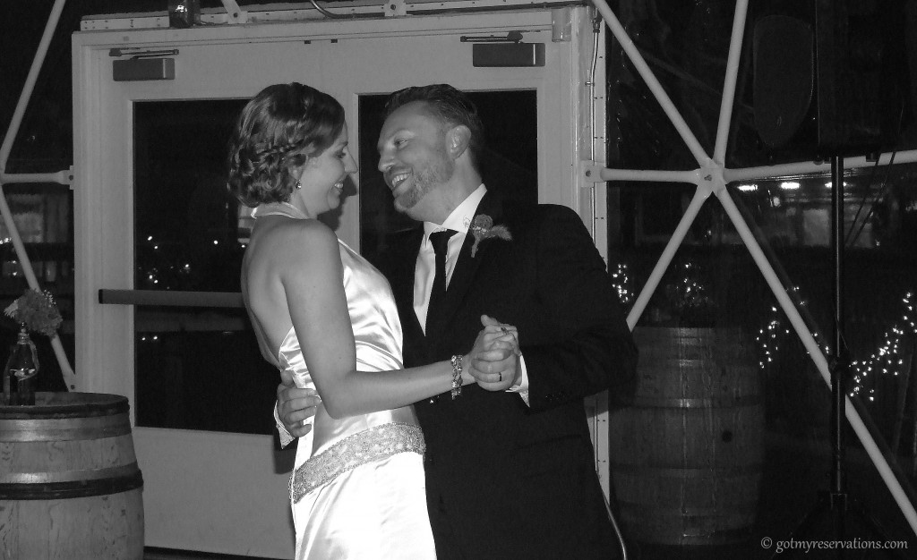 GotMyReservations -- Winery Wedding Dance