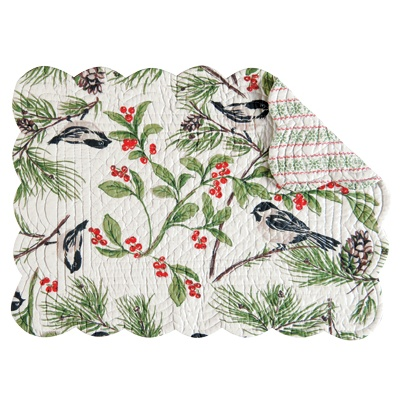 Holly Berry Placemat