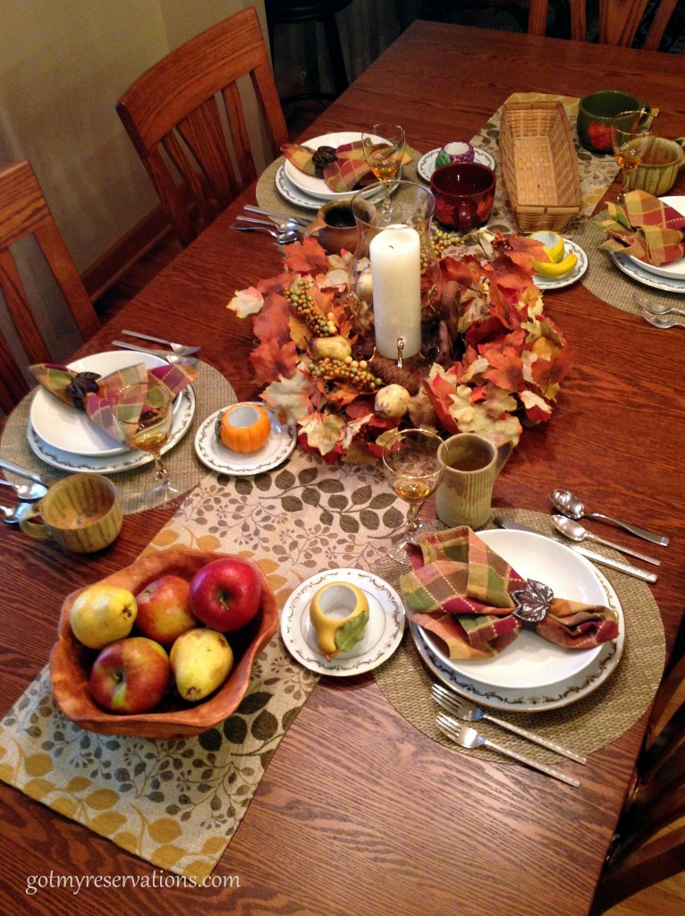 GotMyReservation Falling Leaves Tablescape 2