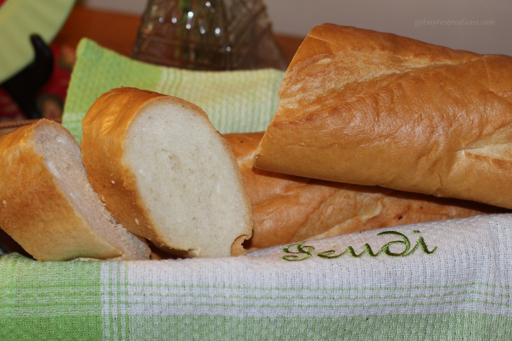 GotMyReservations -- Baguette du France Bread Detail