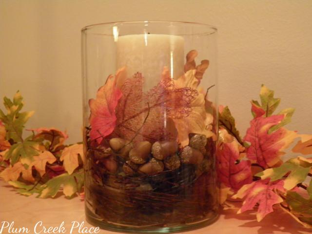 Autumn Centerpiece by Plum Creek Place