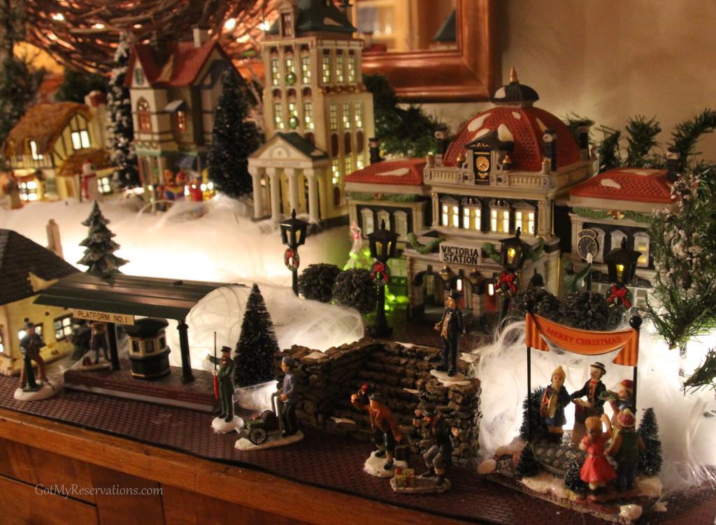 GotMyReservations Dickens Village Victoria Station