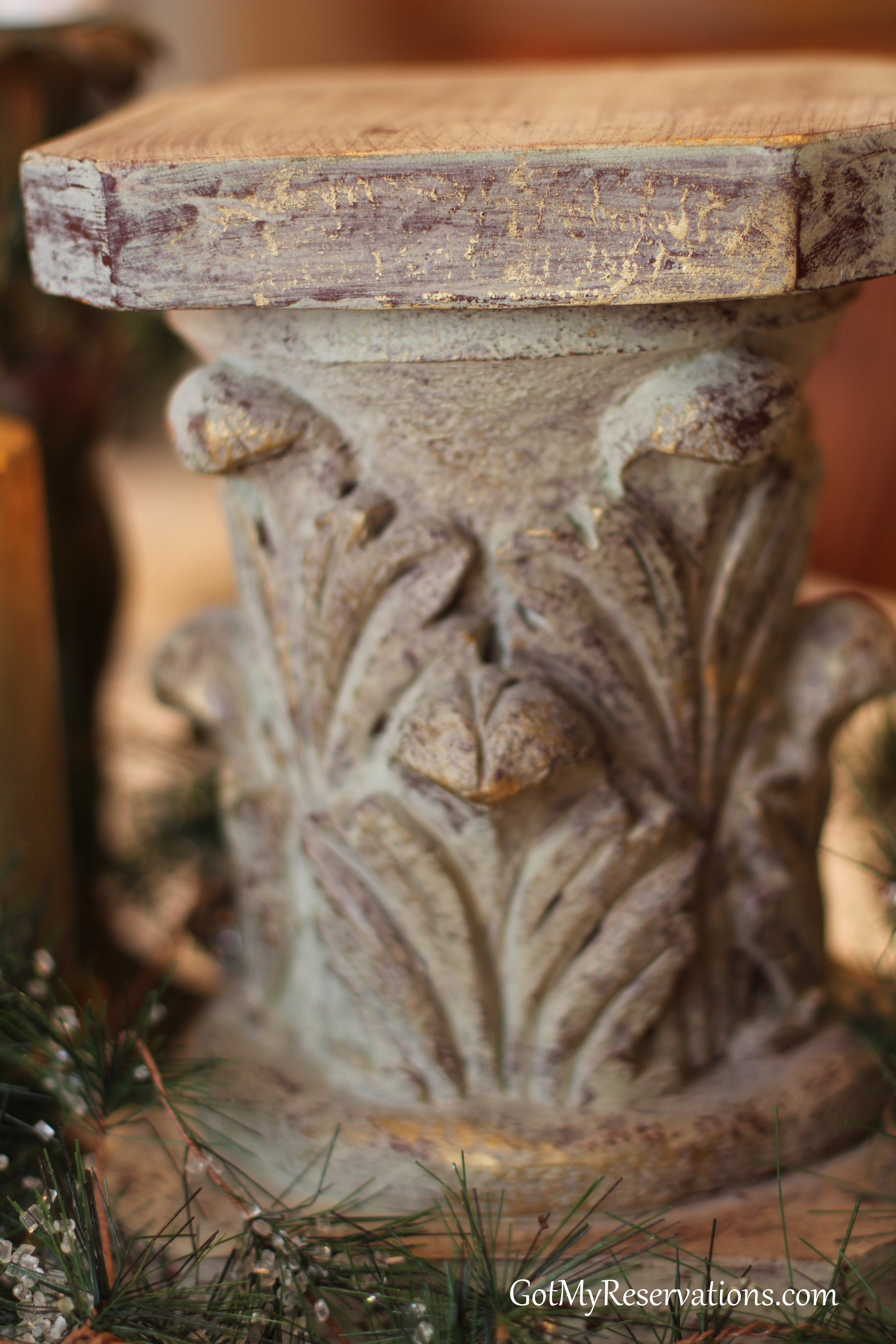 GotMyReservations-Naturally Art Nouveau Pillar