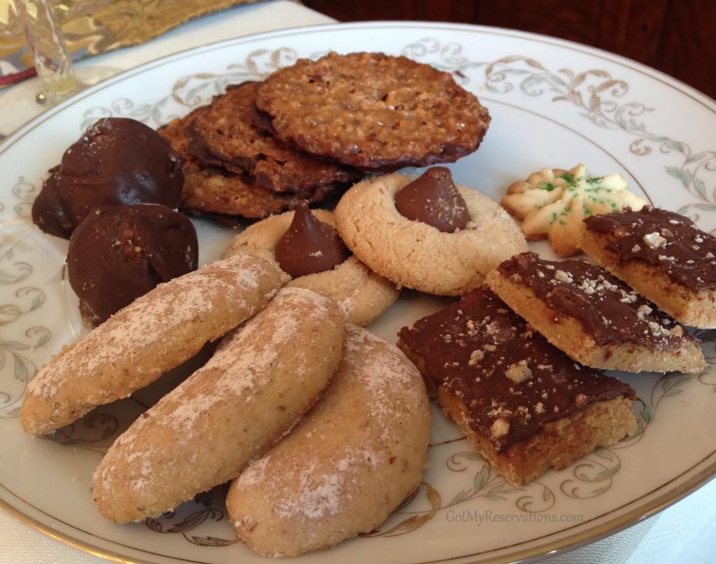 GotMyReservations Downton Abbey Brunch Cookie Dessert