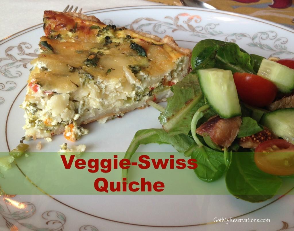 GotMyReservations Downton Abbey Brunch Veggie-Swiss Quiche 2