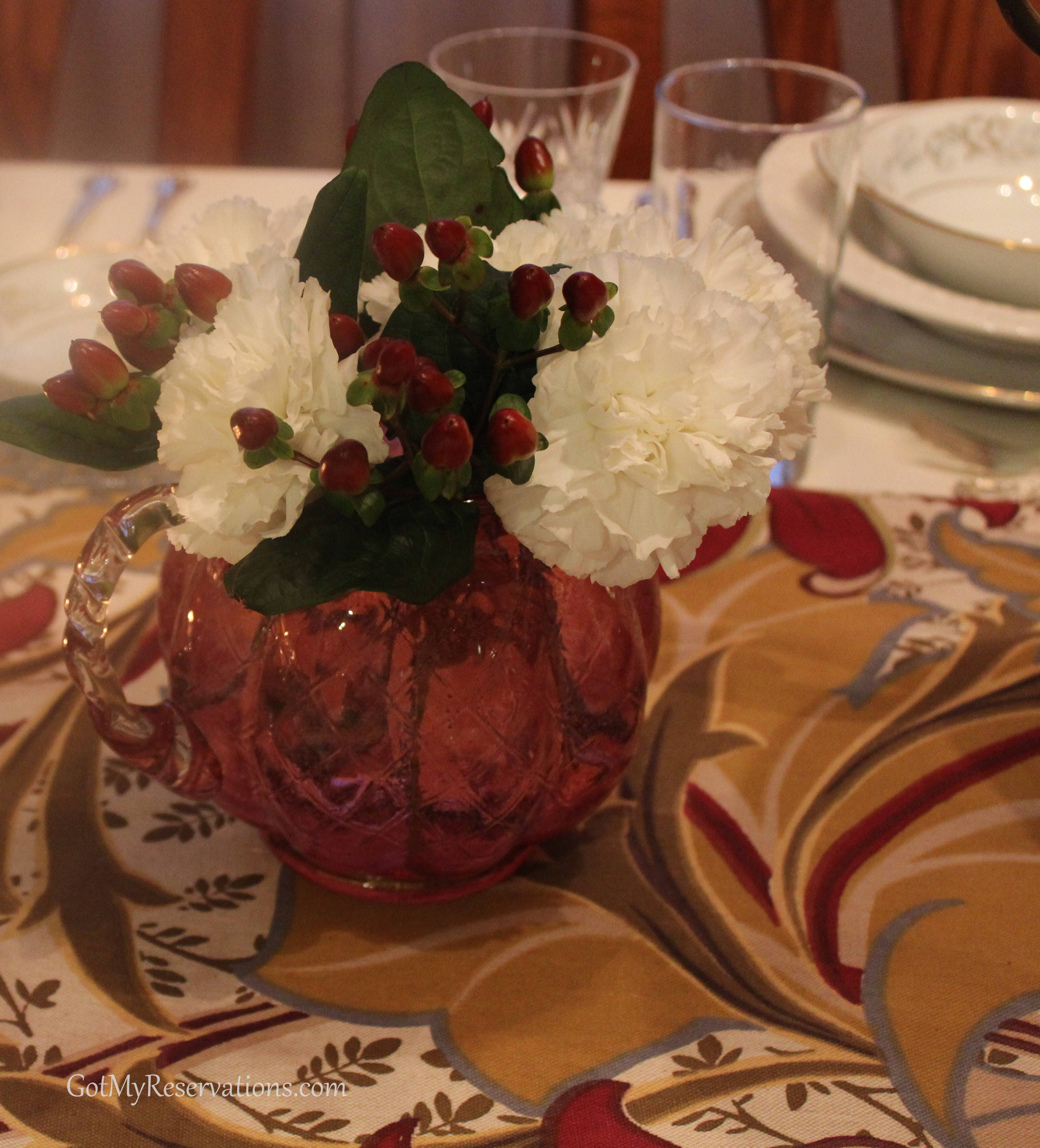 Downton Abbey Tablescape For The Servantless Home
