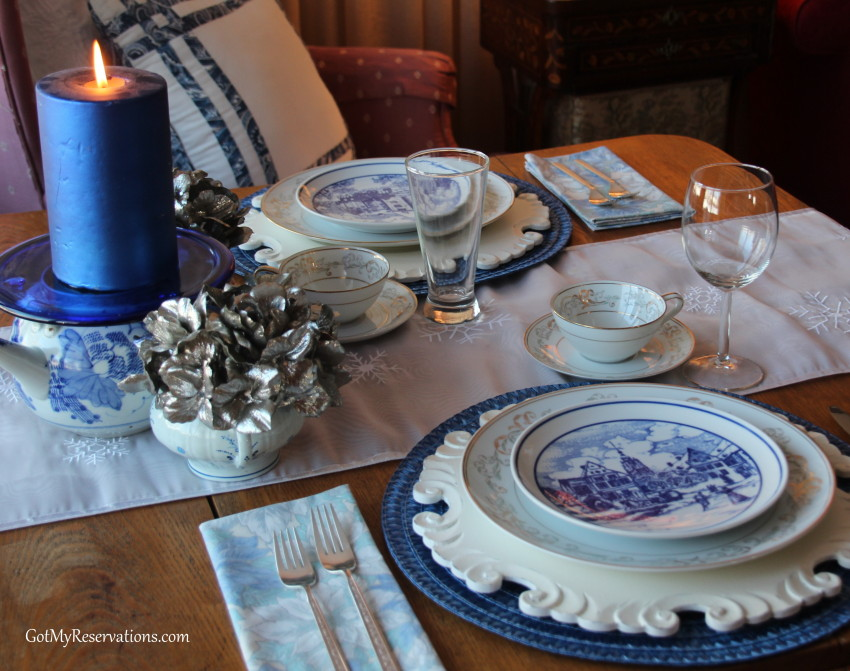 GotMyReservations Winters Blue Tablescape 2