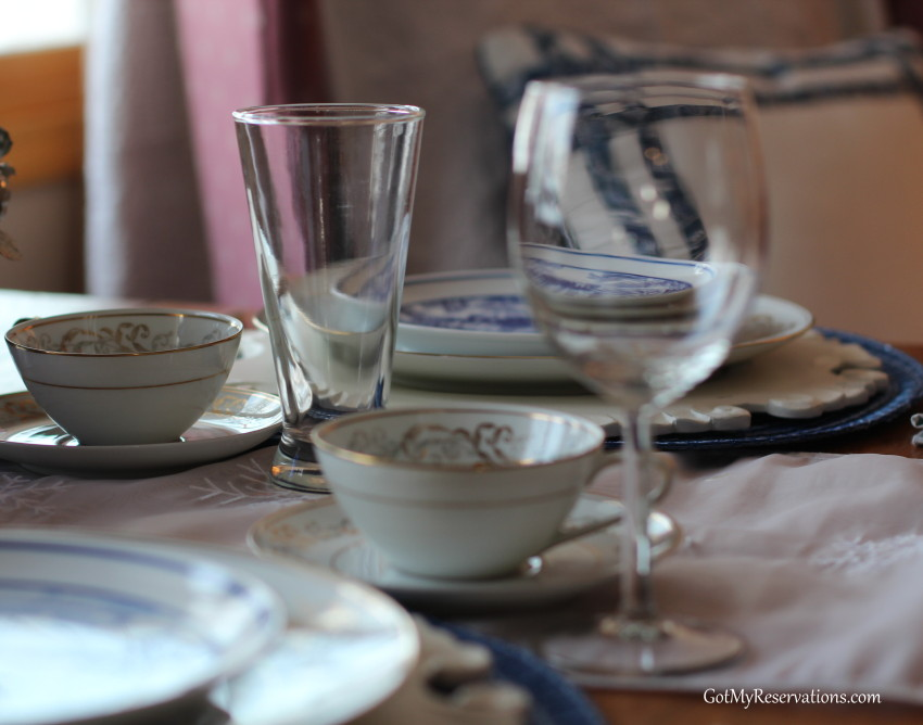 GotMyReservations Winters Blue Tablescape 7