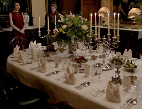 Russian Ala-carte Table Setting : Downton Abbey Tablescape for the Servantless Home Decorator - Got My ...