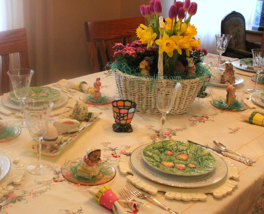 GotMyReservations Easter Tablescape 3