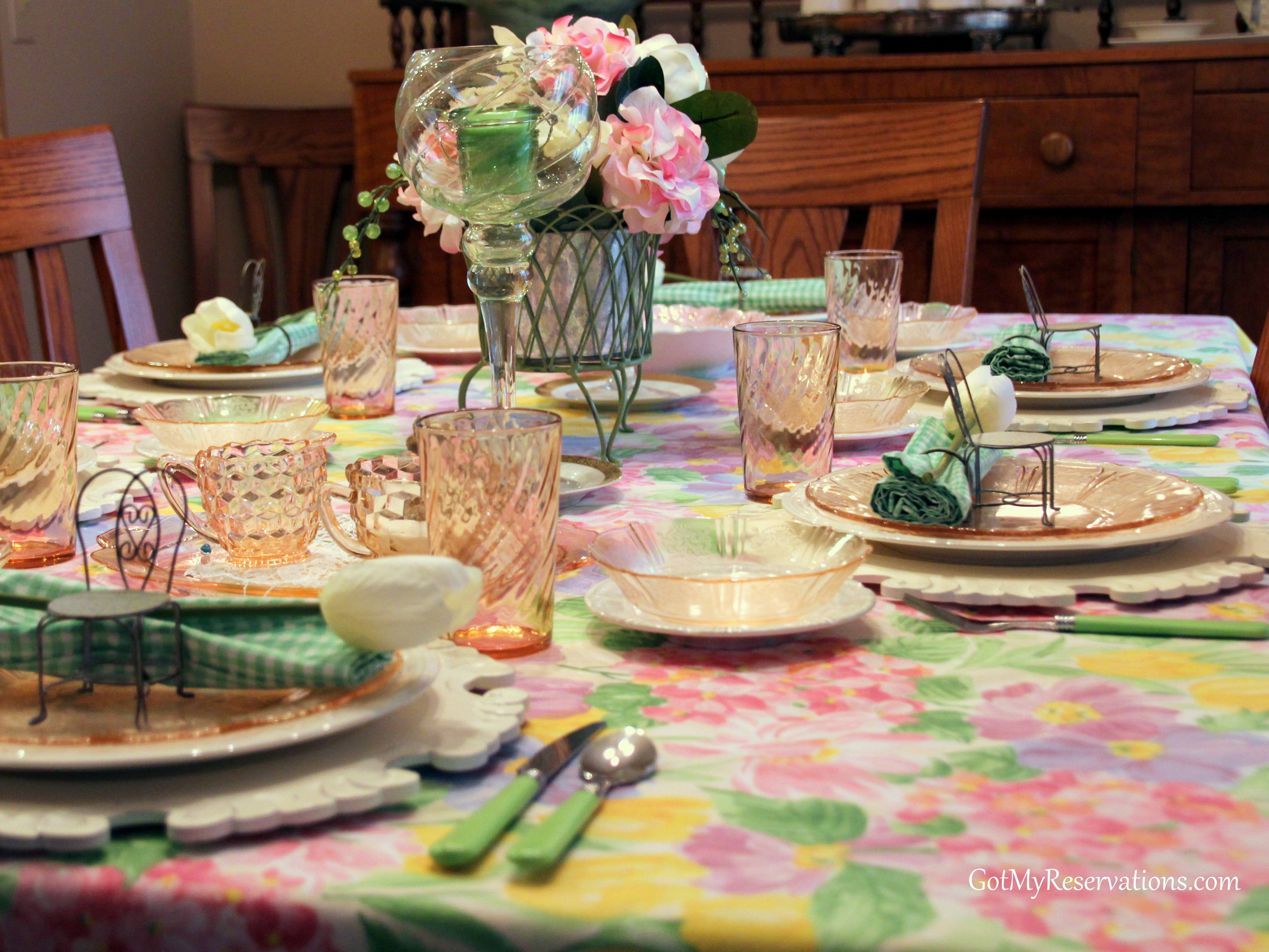 Spring Garden Party Tablescape Got My Reservations