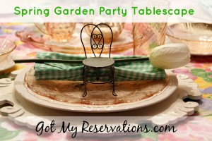 SPRING GARDEN PARTY TABLESCAPE