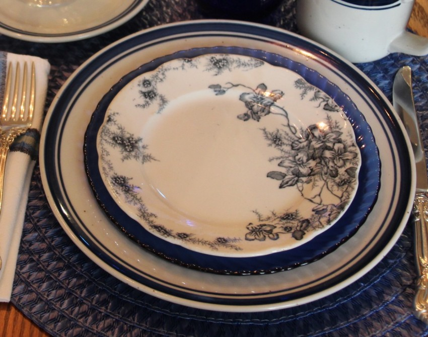 GotMyReservations Springtime in Vienna  Colonial Pottery Plate