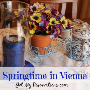 SPRINGTIME IN VIENNA TABLESCAPE