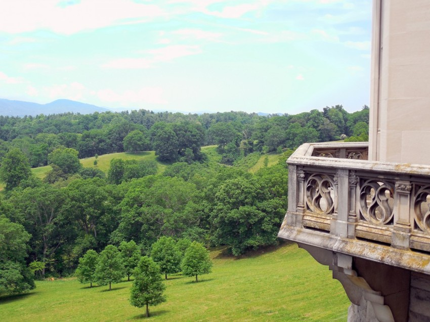 GotMyReservations Biltmore View of Blue Ridge Mountains