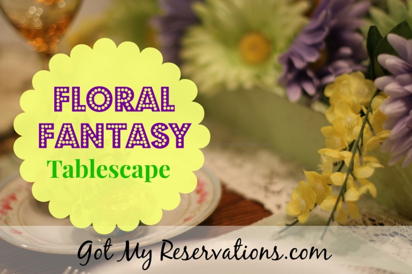 GotMyReservations Floral Fantasy  Intro