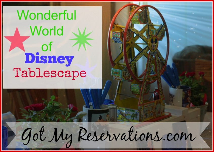 GotMyReservations Wonderful World of Disney Intro