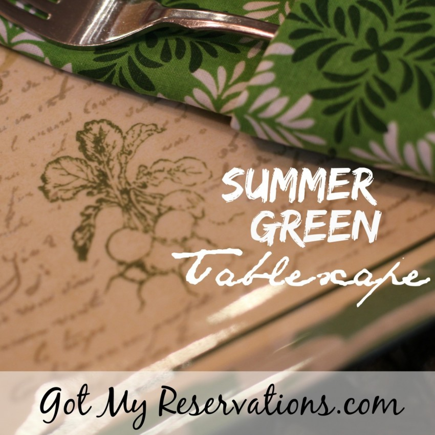 GotMyReservations Summer Green Tablescape Intro