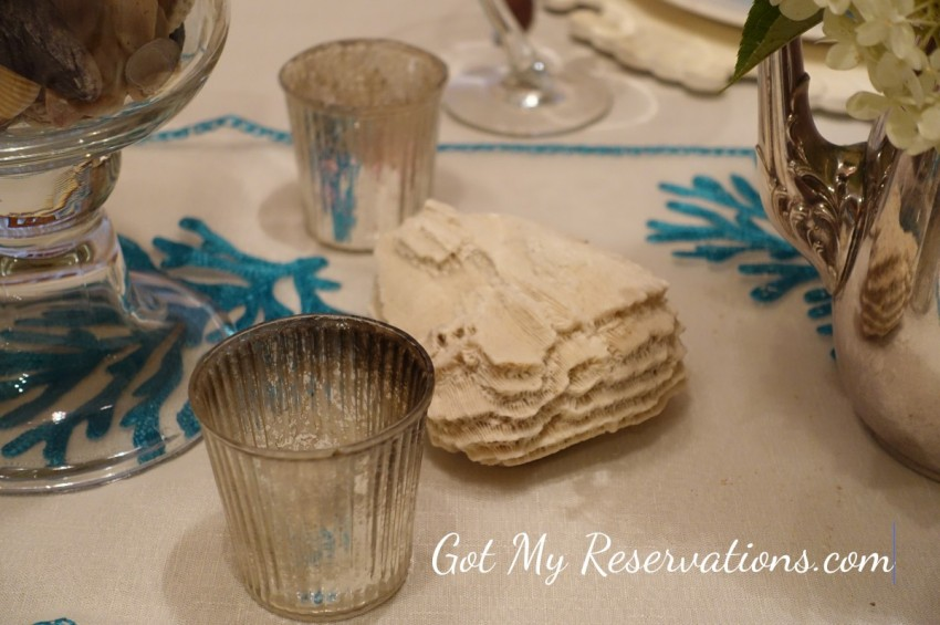 GotMyReservations Summer at the Seashore Tablescape
