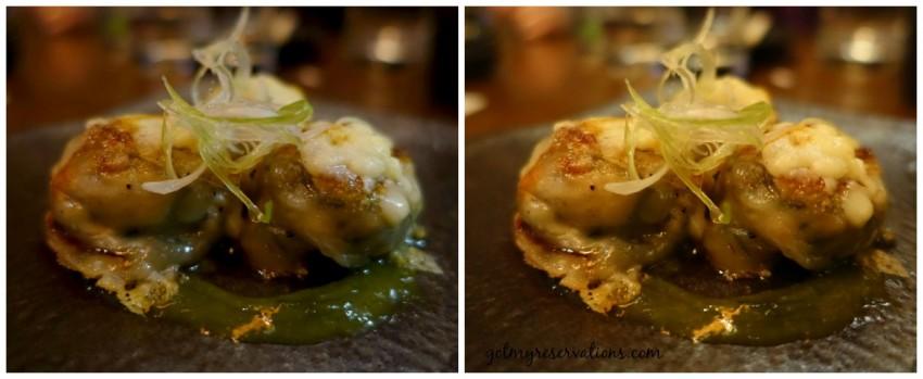 Mushroom Dumplings Union Sushi and BBQ