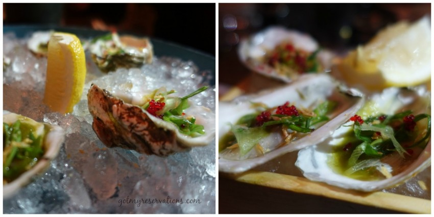 Oysters on the Half Shell Union Sushi and BBQ